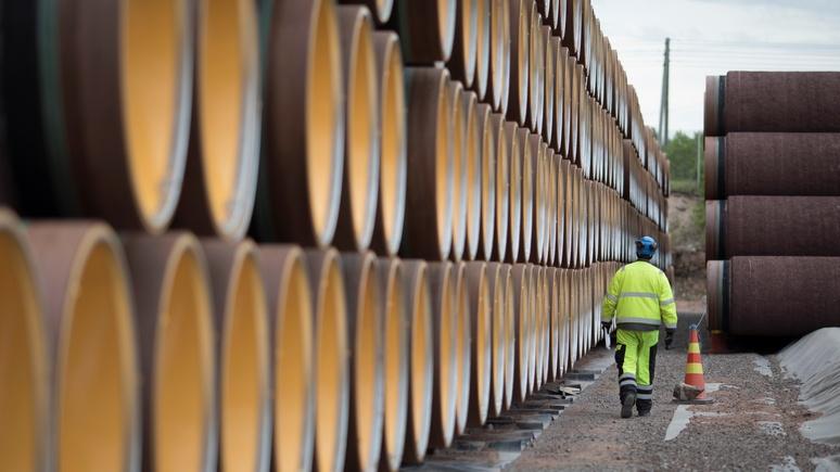 Bloomberg: «Северный поток — 2» — «памятник» энергетической зависимости Европы от России