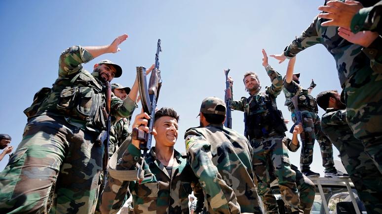 Tages-Anzeiger: войска Асада взяли последний оплот ИГ на юге Сирии
