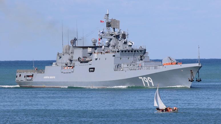 Contra Magazin: «охотой» в водах Сирии Россия дала понять, что не допустит вторжения НАТО