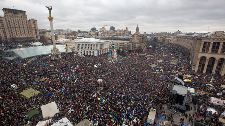 ORF: в пятую годовщину «майдана» Украина балансирует на грани «несостоявшегося государства»