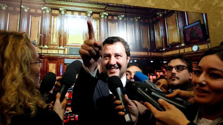 Guardian: Сальвини пообещал противостоять Брюсселю и потребовал уважать итальянский народ