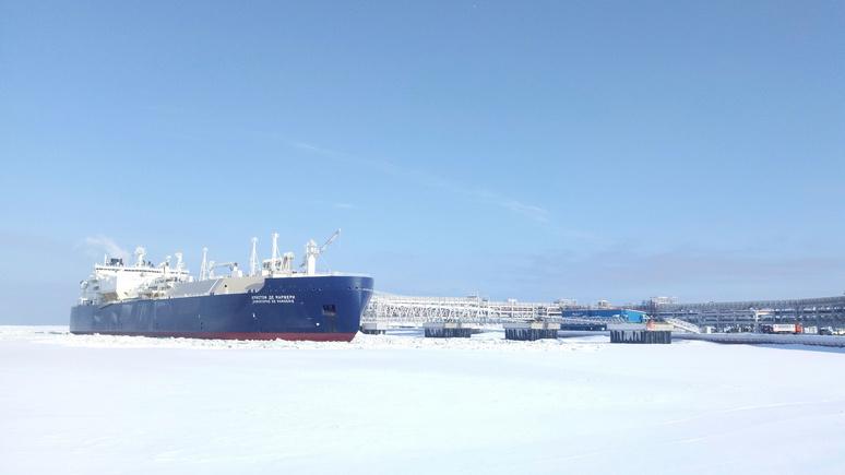 WSJ: Россия «играет газовыми мускулами» и в Европе, и в Азии