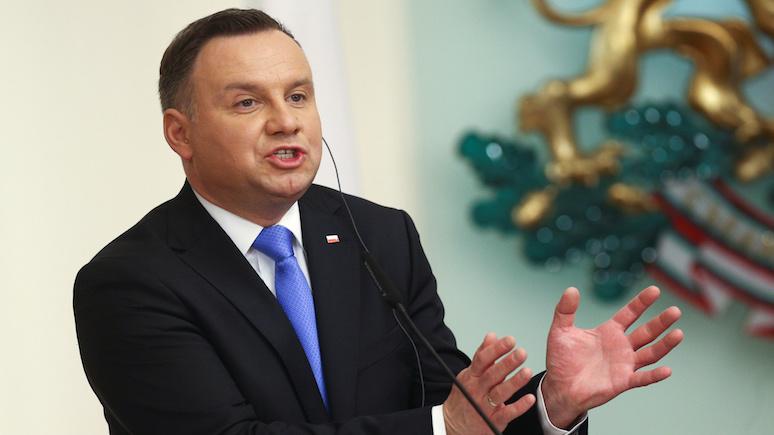 Президент Польши: Россия — это агрессор, и санкции надо ужесточить