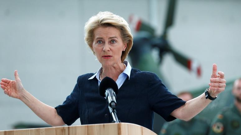 Министр обороны Германии: Россия покусилась на «главное достижение цивилизации»