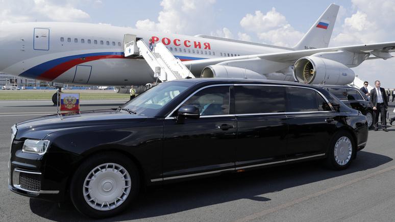 News International: «бункер на колёсах» Путина произвёл фурор в Аргентине