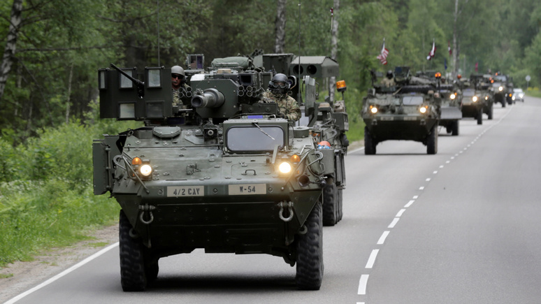 Times: НАТО открестилось от обвинений в концентрации войск на границе с Россией