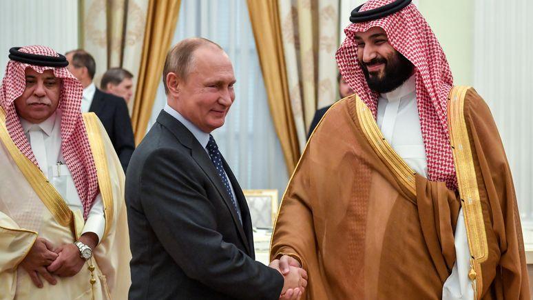 OLJ: Путина и Сальмана роднит нефть, неприязнь к США и общие взгляды на власть