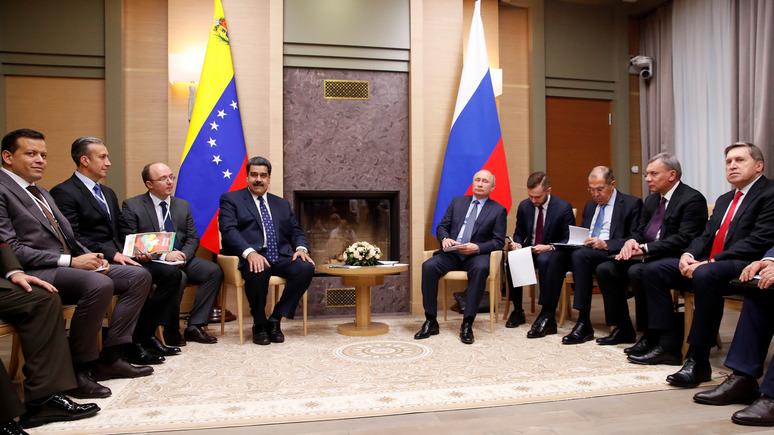 El Espectador рассказал, что стоит за прогулкой Мадуро по Москве