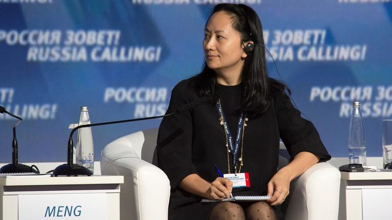 Le Monde: арестом дочери основателя Huawei США нанесли новый удар по китайским компаниям