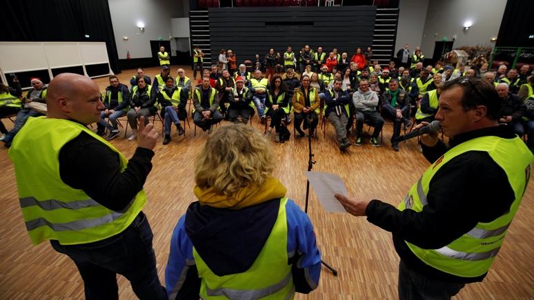 Le Figaro: и целой Франции мало — «жёлтые жилеты» завоёвывают Европу