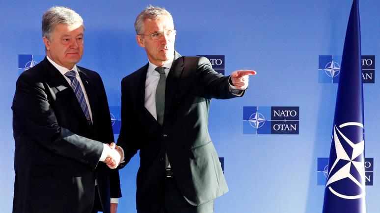 УП: Порошенко передал НАТО и ЕС предложения по новым санкциям против России