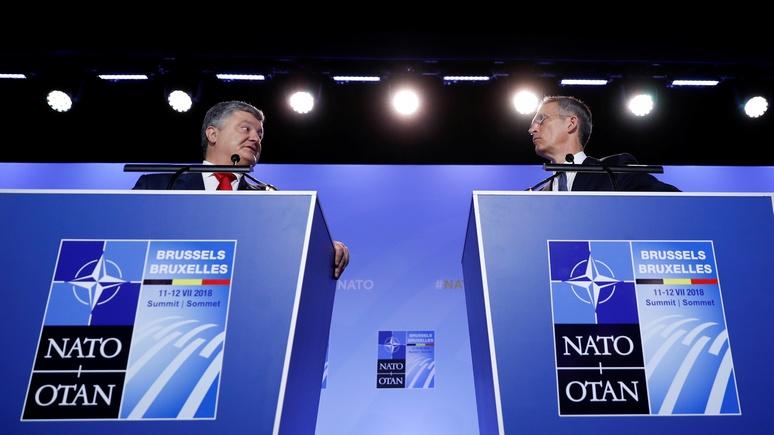 WT: в ответ на «агрессию» России НАТО даст Украине современные средства связи