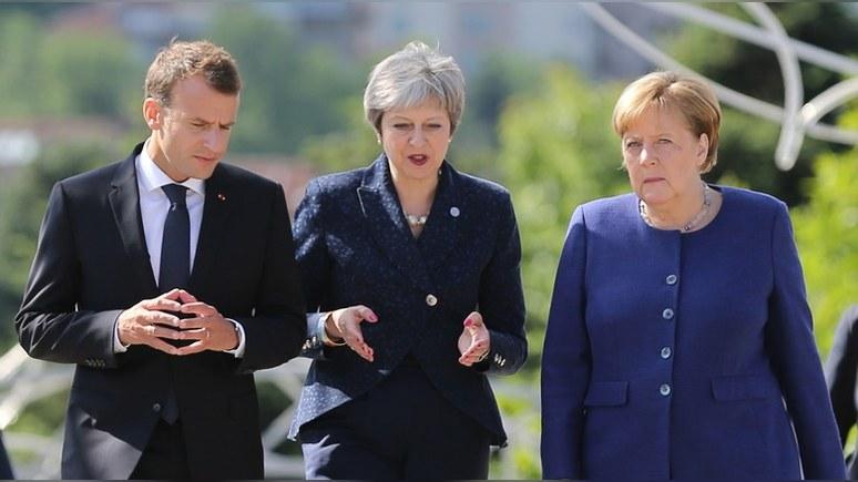 WP: внутренние угрозы мешают «большой тройке» Европы урезонить США