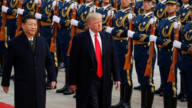Советник Белого дома: на уступки в торговой войне Китай подтолкнул страх перед Трампом