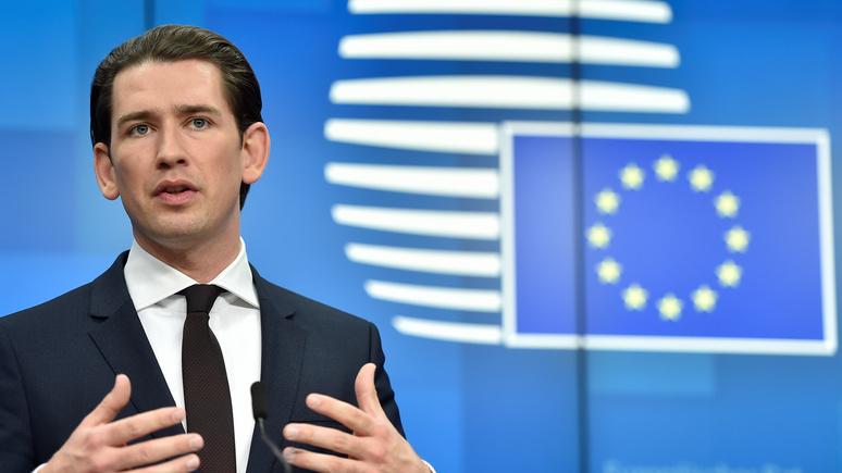 Handelsblatt: председательство Австрии не пошло Евросоюзу на пользу