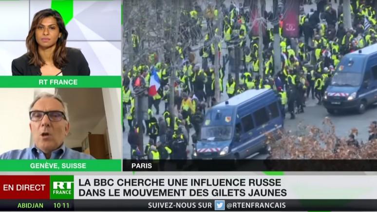 L'Opinion: российский канал RT France пускает корни благодаря «жёлтым жилетам»