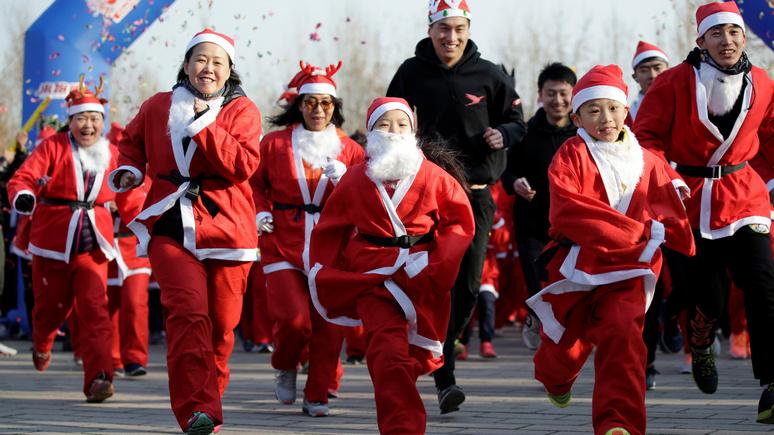 Санта не приедет: в китайском Ланфане власти запретили праздновать Рождество
