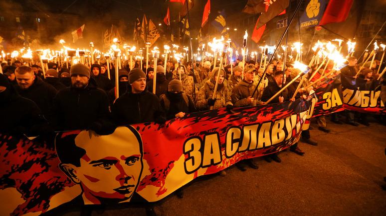 Обозреватель: на Новый год Украина отметит день рождения Бандеры