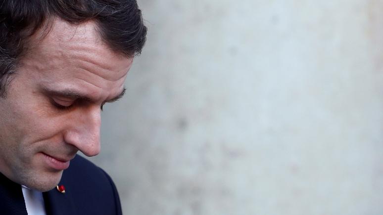 Обозреватель Le Figaro: государственные структуры Франции объявляют войну Макрону