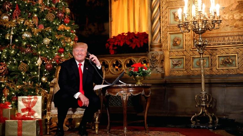 Санты нет, в стране безобразие, «а в остальном с Рождеством» — BuzzFeed рассказал, как Трамп проводит праздники