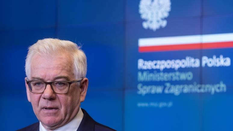 Глава МИД Польши: «Северный поток — 2» убивает Украину и сводит на нет эффект от санкций ЕС