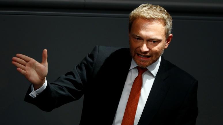 N-TV: лидер свободных демократов Германии призвал Меркель уйти — «и лучше сегодня, чем завтра»