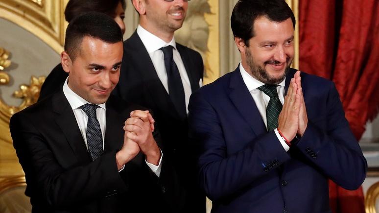 Bild: Италия дала пощёчину Макрону, поддержав протест «жёлтых жилетов»