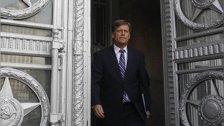 Foreign Policy: Макфол назвал арест Уилана «очень странным»
