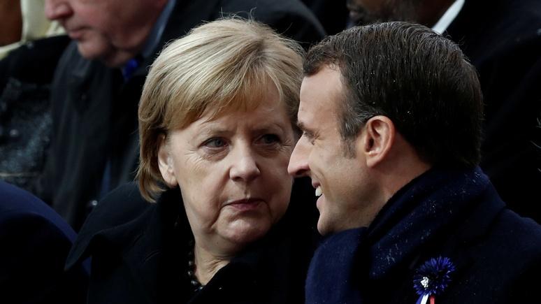 Die Welt: дружба Макрона и Меркель дала трещину — не без помощи России