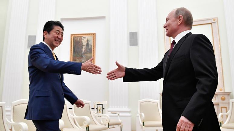 Les Echos: 25-ые переговоры Путина и Абэ к подписанию мирного договора не привели