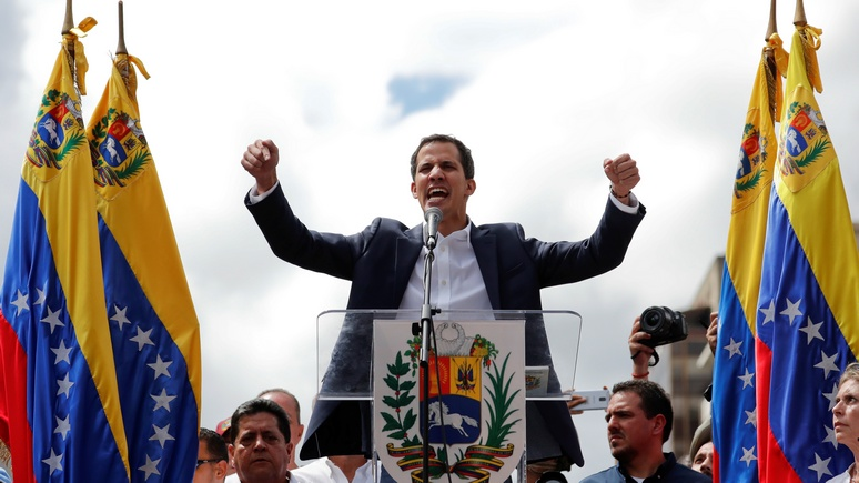 N-TV: Трамп признал оппозиционного лидера законным президентом Венесуэлы
