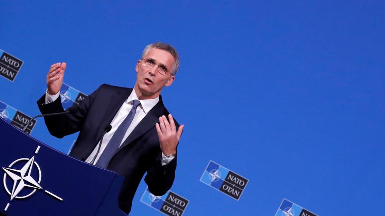 Столтенберг: НАТО и Грузия обеспокоены укреплением России на Чёрном море