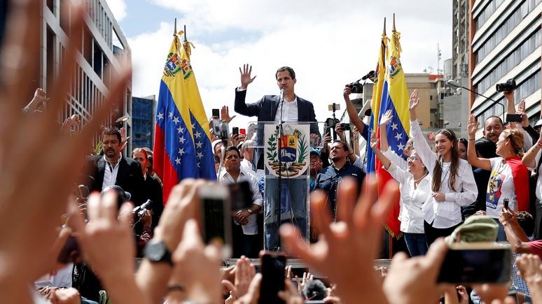 El Periódico: признав Гуаидо президентом Венесуэлы, Трамп поступил опрометчиво