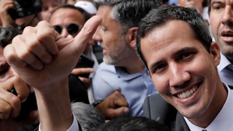 WSJ: Гуаидо объявил себя президентом после звонка из Вашингтона