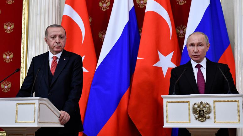 Arab Weekly: из переговоров по Сирии с Эрдоганом победителем вышел Путин