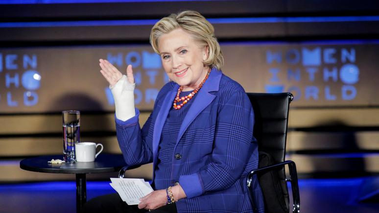 NYP: Клинтон мечтает о реванше над Трампом в 2020 году