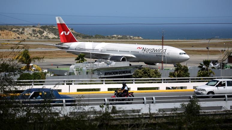 Express: «загадочный российский самолёт» в Каракасе распалил фантазию любителей заговоров