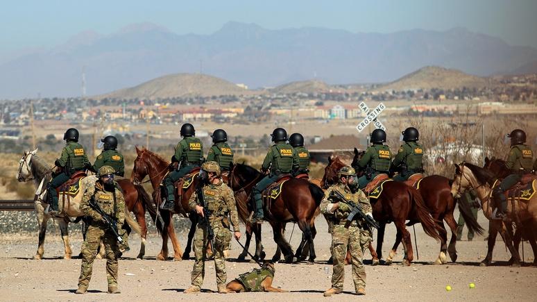 Independent: Пентагон направит 3750 солдат на границу с Мексикой