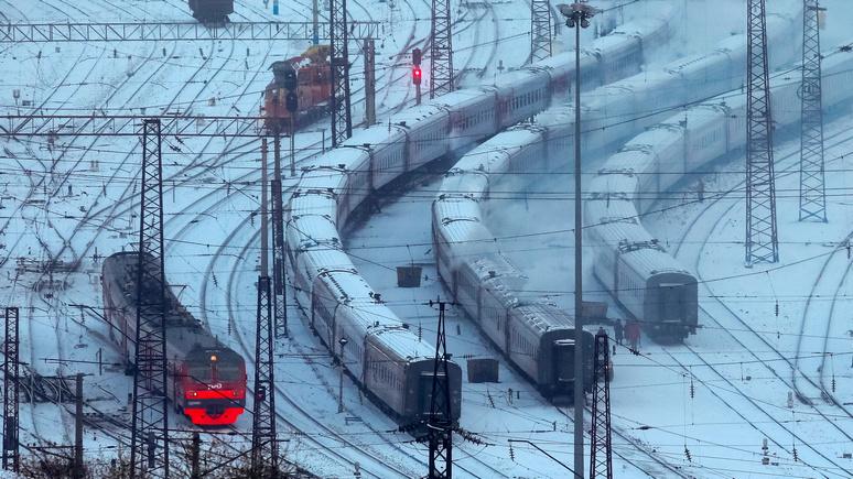 Шведская журналистка: поезда в России ходят как часы в любую погоду, чего не скажешь о Швеции