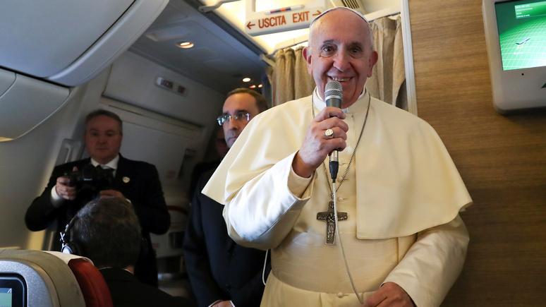 DM: Папа Римский не против помочь в разрешении кризиса в Венесуэле — если к нему обратятся обе стороны