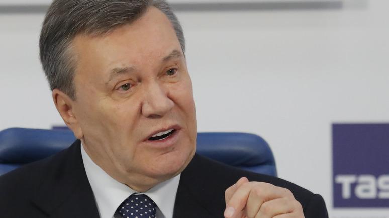 ЛБ: Янукович обвинил высших должностных лиц Украины в потере Крыма и массовых убийствах