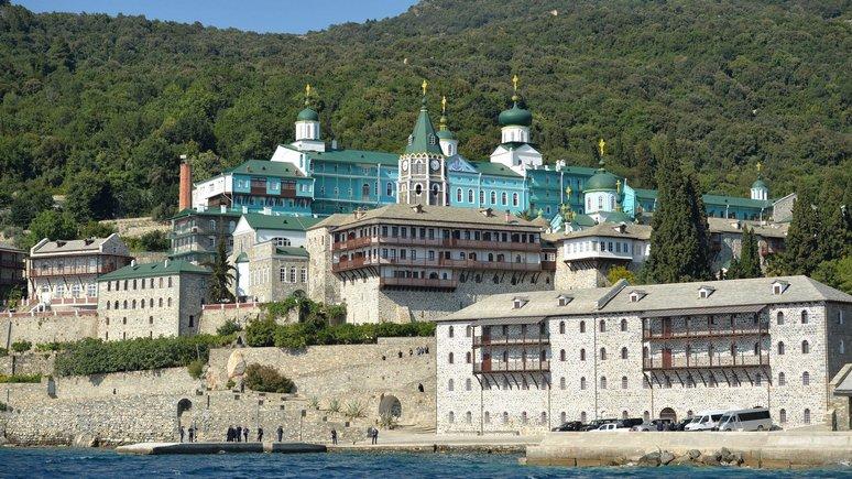Обозреватель: делегацию ПЦУ выгнали из монастыря на Афоне