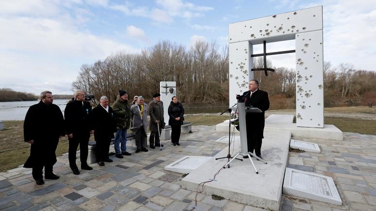 NR: турне Помпео по Центральной Европе проходит под знаком «российской агрессии»