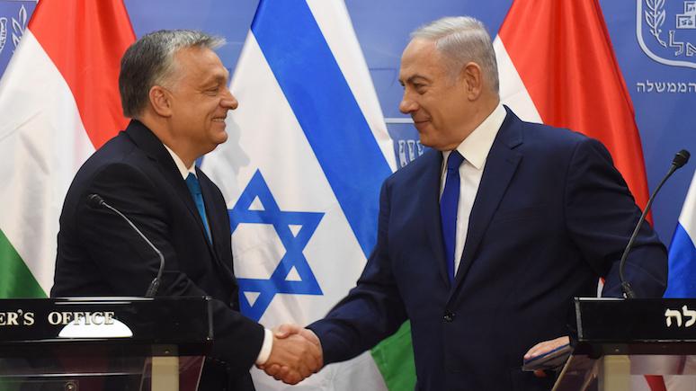 Gazeta Wyborcza: вместо того чтобы заступиться за Польшу, Орбан едет в Израиль
