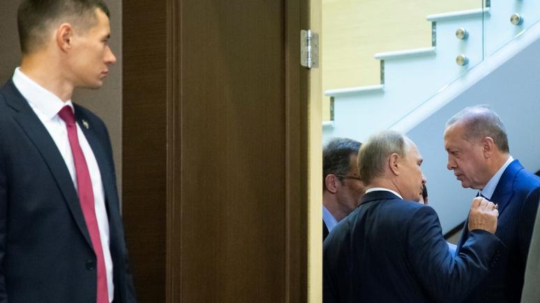 Rheinische Post: при помощи оружия Россия уводит Турцию у Запада