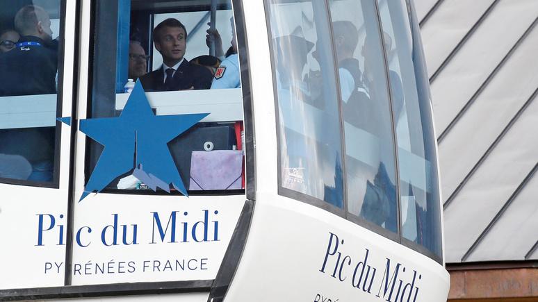Le Parisen: горнолыжный отдых стал для Макрона непозволительной роскошью — как и для большинства  французов