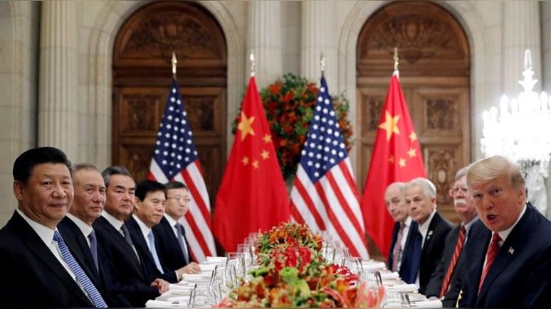 Bloomberg: торговое соглашение с Китаем грозит США потерей авторитета