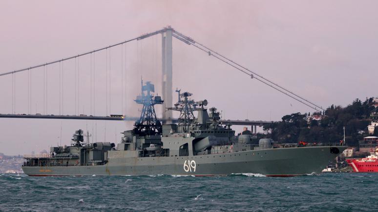 DW: обуздать Россию в Чёрном море НАТО мешает «пережиток прошлого»