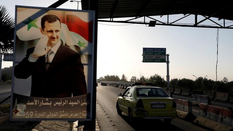 Washington Post: угроза американских санкций тормозит примирение Сирии с соседями
