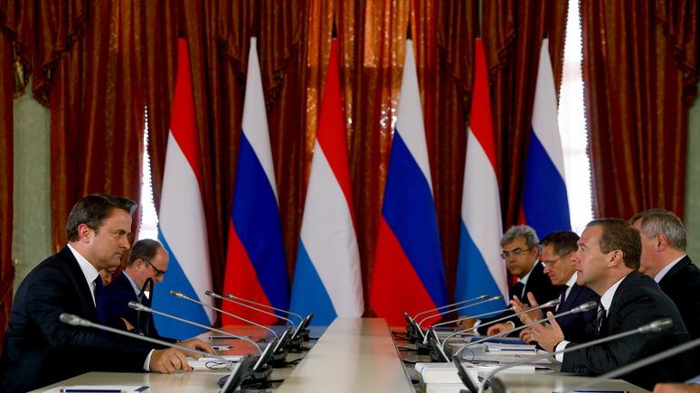 Paperjam: визит Медведева в Люксембург — свидетельство продолжения «истории любви» между двумя странами